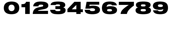 Neue Helvetica 93 Black Extended Font OTHER CHARS