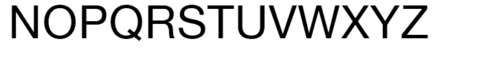Neue Helvetica Georgian 55 Roman Font UPPERCASE