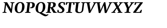 Neue Swift Bold Italic Font UPPERCASE
