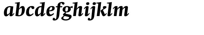 Neue Swift Bold Italic Font LOWERCASE