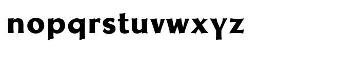 Neue Thannhaeuser Bold Font LOWERCASE