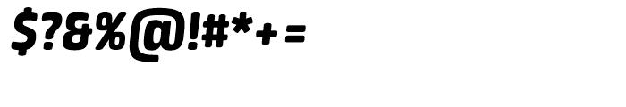 Neuron Heavy Italic Font OTHER CHARS