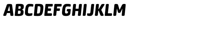 Neuron Heavy Italic Font UPPERCASE