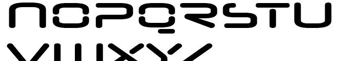 Neuropol Nova Expanded Bold Font UPPERCASE