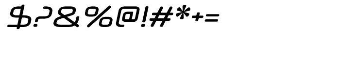 Neuropol X Italic Font OTHER CHARS
