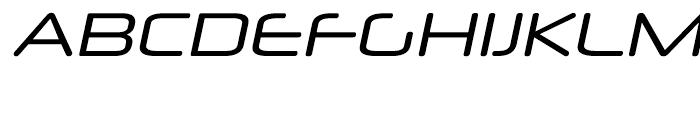 Neuropol X Italic Font UPPERCASE