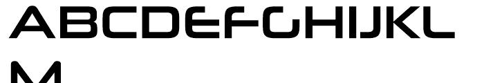Neuropolitical Regular Font UPPERCASE