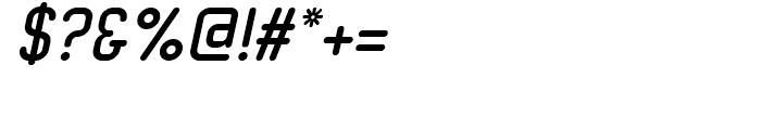 Neutraliser Caps Bold Oblique Font OTHER CHARS