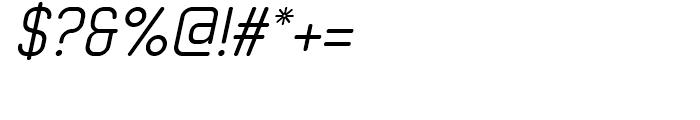 Neutraliser RegularOblique Font OTHER CHARS