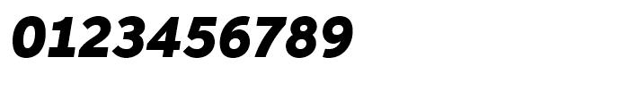 Neutro Black Italic Font OTHER CHARS