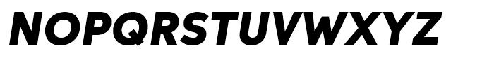 Neutro Black Italic Font UPPERCASE