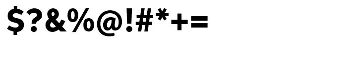 Neutro Heavy Font OTHER CHARS
