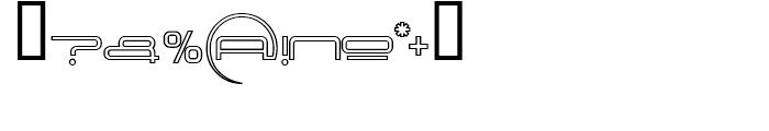 Neutronica Sub World Font OTHER CHARS