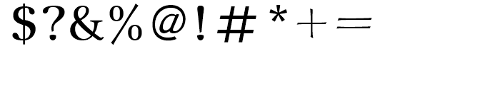 New Journal Regular Font OTHER CHARS