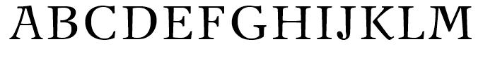 New Journal Regular Font UPPERCASE
