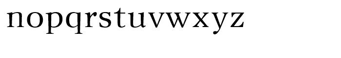 New Journal Regular Font LOWERCASE