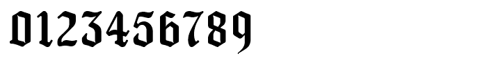 New Old English Regular Font OTHER CHARS