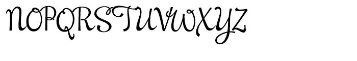 NewCuisine Regular Font UPPERCASE