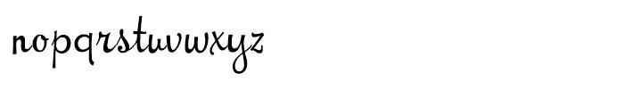 NewCuisine Regular Font LOWERCASE