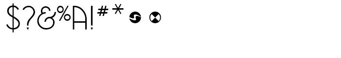 NewGarden Light Font OTHER CHARS