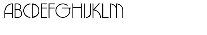 NewGarden Light Font UPPERCASE