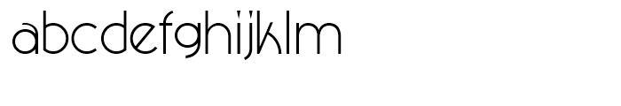 NewGarden Light Font LOWERCASE
