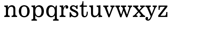 News 701 Roman Font LOWERCASE