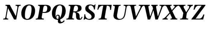 News 705 Bold Italic Font UPPERCASE