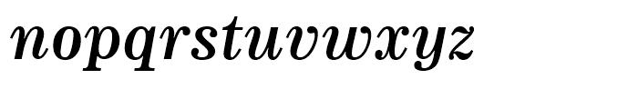 News 705 Bold Italic Font LOWERCASE
