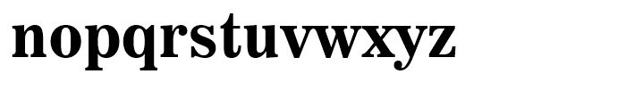 News 706 Bold Font LOWERCASE