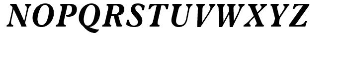 News Plantin Bold Italic Font UPPERCASE