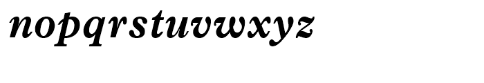 News Plantin Bold Italic Font LOWERCASE