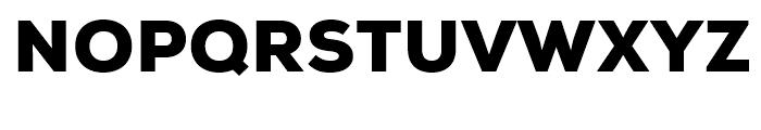 Nexa Black Font UPPERCASE