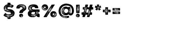 Nexa Rust Sans Black 03 Font OTHER CHARS