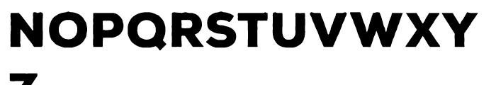 Nexa Rust Sans Black Font UPPERCASE