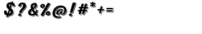 Nexa Rust Script B Shadow 00 Font OTHER CHARS