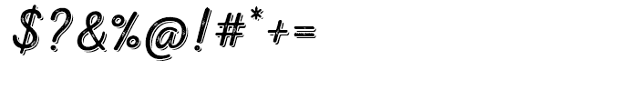 Nexa Rust Script L Shadow 01 Font OTHER CHARS