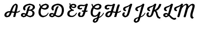 Nexa Rust Script R 00 Font UPPERCASE
