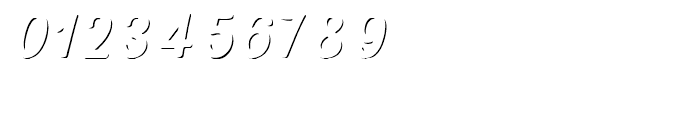Nexa Rust Script R Shadow Font OTHER CHARS