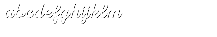 Nexa Rust Script R Shadow Font LOWERCASE