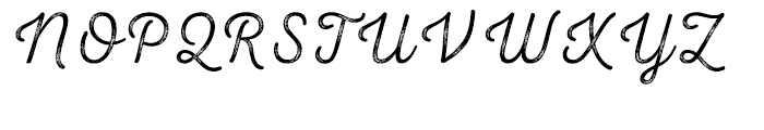 Nexa Rust Script T 03 Font UPPERCASE