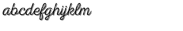 Nexa Rust Script T Shadow 02 Font LOWERCASE