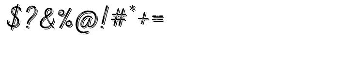 Nexa Rust Script T Shadow 03 Font OTHER CHARS