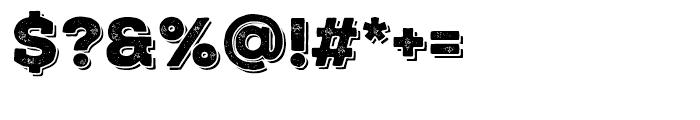 Nexa Rust Slab Black Shadow 01 Font OTHER CHARS