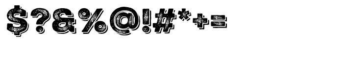 Nexa Rust Slab Black Shadow 03 Font OTHER CHARS