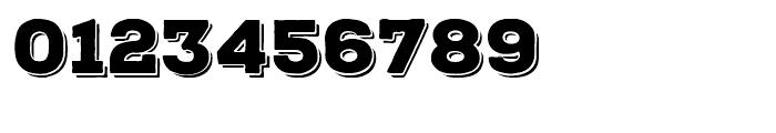 Nexa Rust Slab Black Shadow Font OTHER CHARS