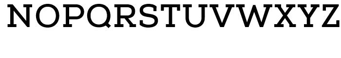 Nexa Slab Bold Font UPPERCASE