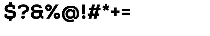 Nexa Slab Heavy Font OTHER CHARS