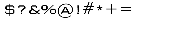 Nexstar Light A Font OTHER CHARS