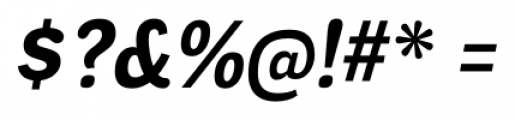 Negotiate Bold Italic Font OTHER CHARS